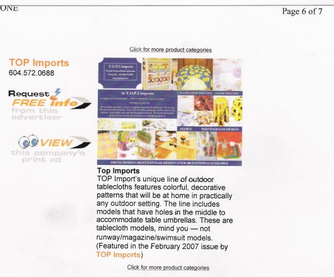press release garden centre magazine feb 2007