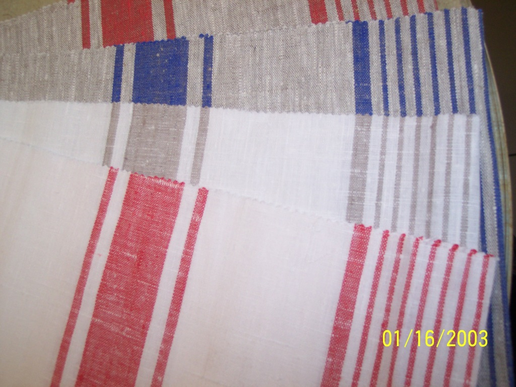 ftp stripe linen tablecloth